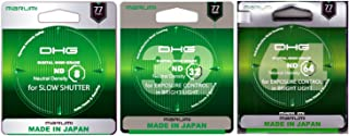 Marumi 77mm ND Set of 3 Filters ND8 ND32 ND64 DHG Neutral Density ND Made in Japan