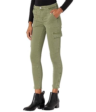 AllSaints Duran Skinny Cargo (Khaki Green) Women