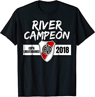 Camiseta River Plate Campeon Soccer Fan T-Shirt