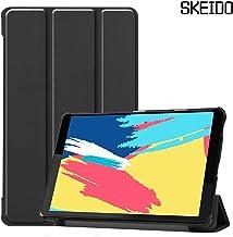 SKEIDO For Lenovo TAB M8 FHD TB-8705F TB-8705N Tablet case for Lenovo Tab M8 HD 8505F TB-8505X Case Smart PU Leather Flip Cover -Black