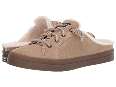 Sperry Crest Vibe Mule Suede (Sand) Women