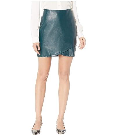 Bishop + Young Vegan Leather Mini Skirt (Jade) Women