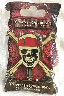 Disney Pirates of the Caribbean At World's End from the El Capitan Theatre Pin Skull & Cross Bones