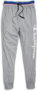 Champion Men's Jersey Jogger Sleep Pants Pajama Bottom