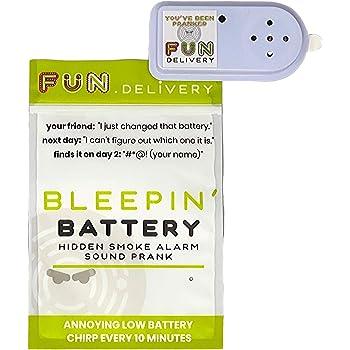 Amazon Com Fun Delivery Bleepin Battery Hidden Annoying Smoke