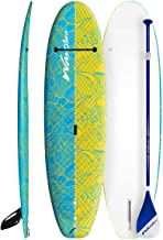 Wavestorm Premium Stand-up Paddle Board w Textured Grip   Junior 8 Foot   Max Weight 120 lbs   Included Paddle, Leg Leash, Deck Grip, Storage Strap
