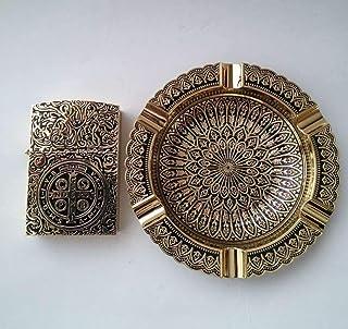 コンスタンティン オイルライター 灰皿セット Constantine (ゴールド)