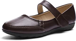 Comfort Mary Jane Flats for Women- Walking Casual Slip-on Loafers Shoes