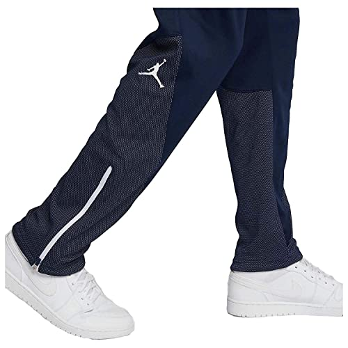 c33dbdbb1b6 NIKE Jordan Men's Flight Team Basketball Pants-Navy-Medium