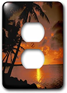 3dRose LSP_75351_6 Ocean View at Sunset, Australia Plug Outlet Cover
