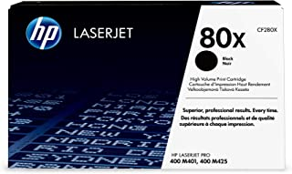 HP 80X | CF280X | Toner Cartridge | Black | High Yield