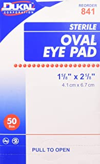 Sterile Eye Pads, 50 Count