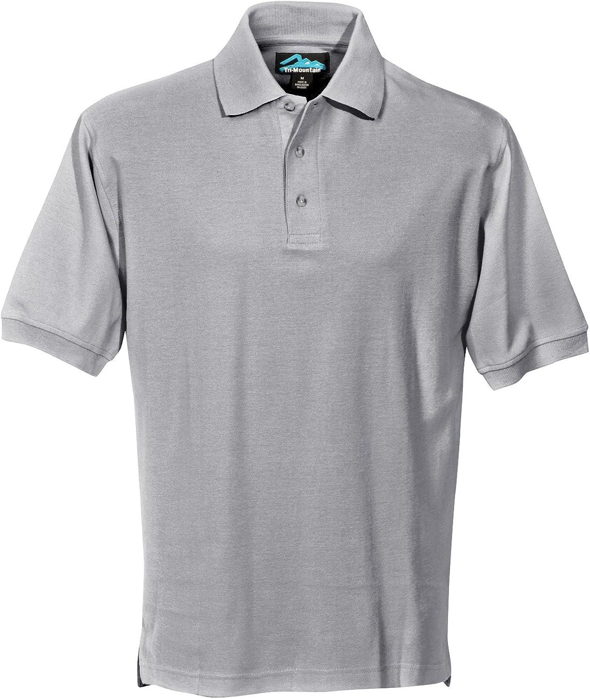 Tri-Mountain Men's 168 Signature S/S Polo Shirt