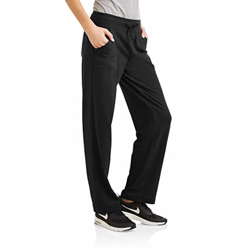 Athletic Works Womens Essential Athleisure Knit Pant Available in Regular and Petite