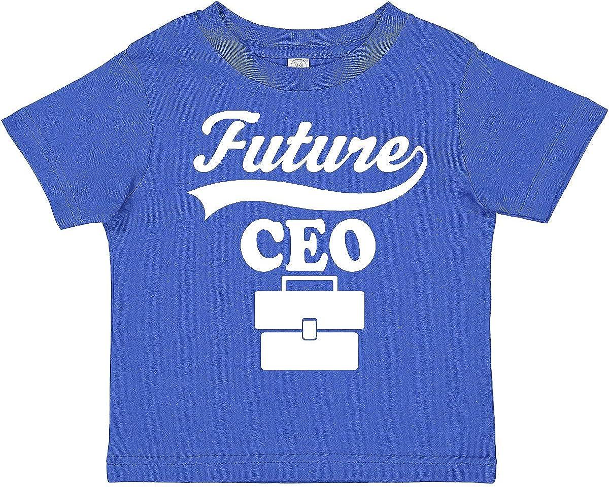 inktastic Future CEO Shirt Childs Boss Job Toddler T-Shirt