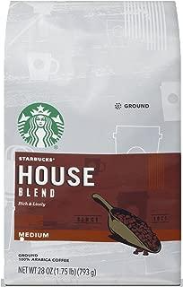 Starbucks House Blend Medium Roast Ground Coffee, 28 Ounce (Pack of 1) bag