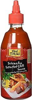 Real Thai Sriracha Extra Hot Chili Sauce 1 x 430 ml