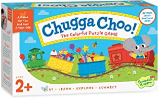 Peaceable Kingdom Chugga Choo! Colorful Puzzle Game - Ages 2 and Up