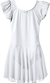 Best white leotard with attached skirt Reviews