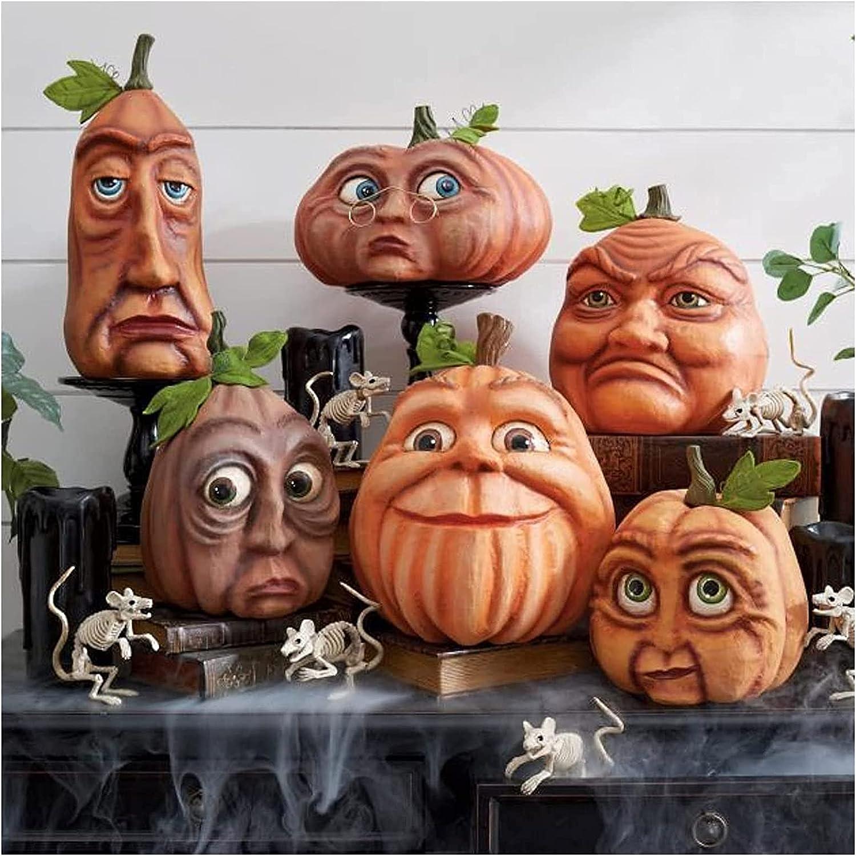 Max 59% OFF supreme RRNAR Expressive Pumpkin Family Halloween Six Pump Combinations