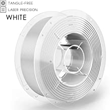 SainSmart PRO-3 Tangle-Free Premium 1.75mm PLA 3D Printer Filament for Ender-3, White PLA, 2.2 LBS (1KG) Spool, Dimensional Accuracy +/- 0.02mm