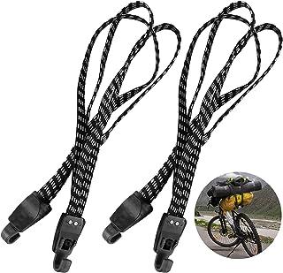 Boisbresil 2 stuks fietsspanriemen, 3-in-1 fietsbagageriem, elastische spantouwen met haak, motorfiets, bagagespanner, bag...