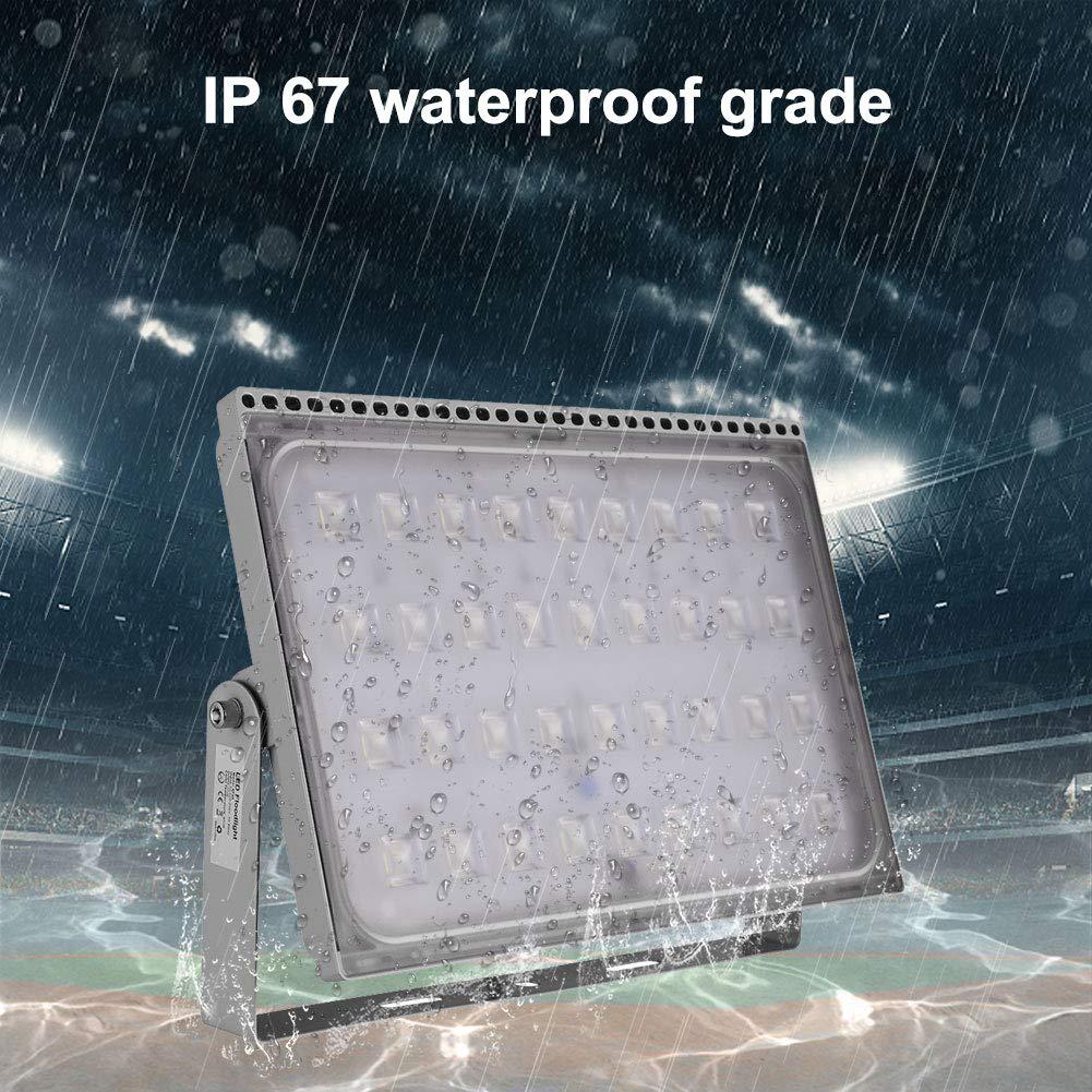 Viugreum Foco LED Exterior 6000 K Excelente Disipaci/ón de Calor 16000LM Impermeable IP67 Reflector LED 200W Blanco fr/ío para Iluminaci/ón Exterior