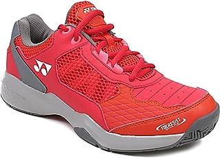 Yonex All Surface Tennis/Badminton Shoes Power Cushion Lumio Shtluex for Men, Red