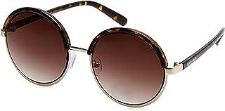 Fastrack Gradient Round Women's Sunglasses - (C070BR3F|55|Brown Color)