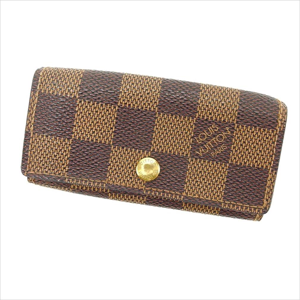 かすかな決定するはず(ルイヴィトン) Louis Vuitton キーケース エベヌ ミュルティクレ6 ダミエ レディース 中古 E867
