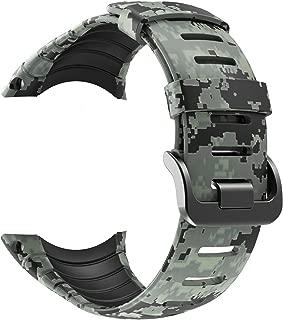 patrohoo Suunto Core Strap, Rubber Replacement Watch Band for Suunto Core SS014993000?