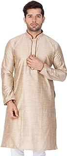 Conjunto de Pijama de algodón y Seda para Hombre, Estilo Tradicional Indio