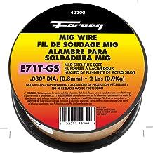 Forney 42300Flux Core MIG tel, yumuşak E71TGS. 030-Diameter, çekiç, makara, 42300