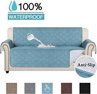 100% Waterproof Sofa Covers for Living Room Non Slip Furniture Protector Sofa Covers for Dogs Sofa Covers for Cushion Couch Smooth Sofa Covers Machine Washable (Sofa 75