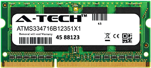 A-Tech 8GB Module for Toshiba Satellite C855-S5115 Laptop & Notebook Compatible DDR3/DDR3L PC3-12800 1600Mhz Memory Ram (ATMS334716B12351X1)
