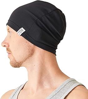 8561f8c74994d CHARM Sports Beanie Lightweight Mens - Gym Thin Sweat Wicking Comfort UV  Cut Casualbox