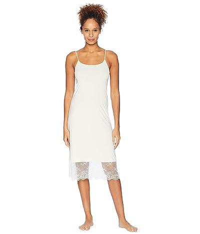 Natori Infinity Lace Trim Slip (Ecru) Women