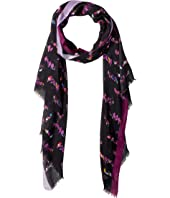 Kate Spade New York - Loves Birds Oblong Scarf