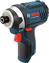 Bosch Bare-Tool PS41BN 12-Volt Max Lithium-Ion 1/4-Inch Hex Impact Driver with Exact-Fit L-BOXX Tool Insert Tray
