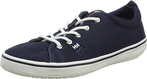 Helly Hansen W Scurry 2, Hauszapatos de Deporte para mujer, azul (Navy blanco rojo 597), 37 EU