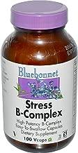 Bluebonnet Nutrition, Stress B-Complex, 100 Vcaps - 2pc