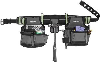 Cinto de ferramentas Bucket Boss 2 em cinza com alta visibilidade, 55105-HV