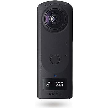 RICOH THETA Z1 ブラック 360度カメラ 1.0型裏面照射型CMOSセンサー搭載 23MP高解像静止画 手ブレ補正機能搭載 4K動画 360度空間音声 RAW現像対応 高速無線転送 リコーシータ独自の高精度なスティッチング技術 THETAシリーズのフラッグシップモデル ビジネスシーンで大活躍 910774