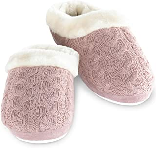 Addison Meadow Slippers for Women - Womens Slippers, Fur-Trimmed Scuff