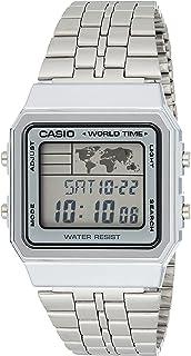 ساعة كاسيو للنساء A500WA-7- رقمي، كاجوال