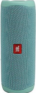 JBL FLIP5 Bluetoothスピーカー IPX7防水/USB Type-C充電/パッシブラジエーター搭載/ポータブル ティール JBLFLIP5TEAL 【国内正規品/メーカー1年保証付き】