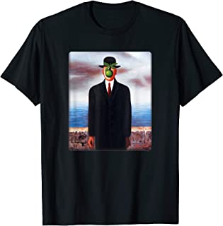 Son of Man by Rene Magritte T-Shirt