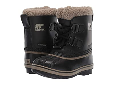 SOREL Kids Yoot Pactm TP (Toddler/Little Kid) (Black 1) Kids Shoes