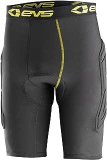 EVS Sports Unisex-Child Tug Bottom Padded Shorts (Black/Hi-Viz, Large/X-Large)