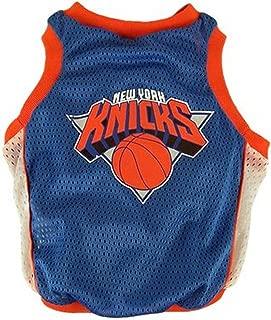Sporty K9 NBA New York Knicks Basketball Dog Jersey, XX-Small